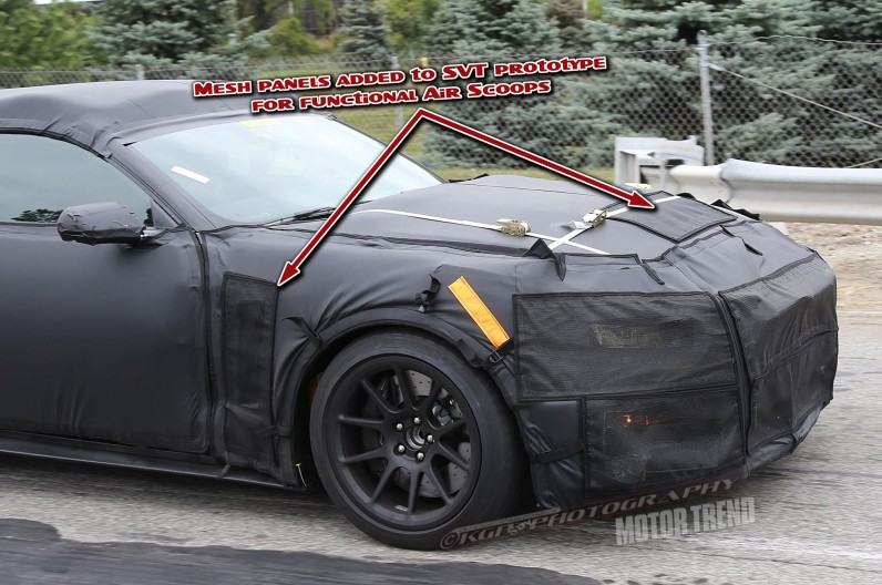 2015 Ford Shelby Mustang GT350 Spied In Detroit