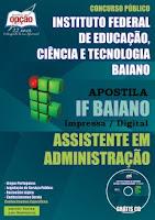 Apostila Concurso Instituto Federal Baiano - IFBaiano edital 2015.