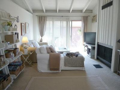 Desain Interior Ruang Tamu Minimalis Dan Mungil