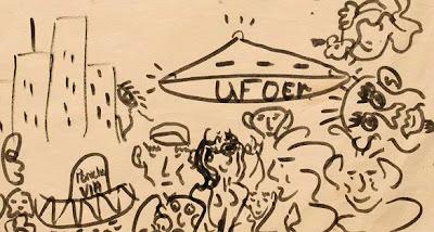 John Lennon's UFO Doodle Auctioned Off