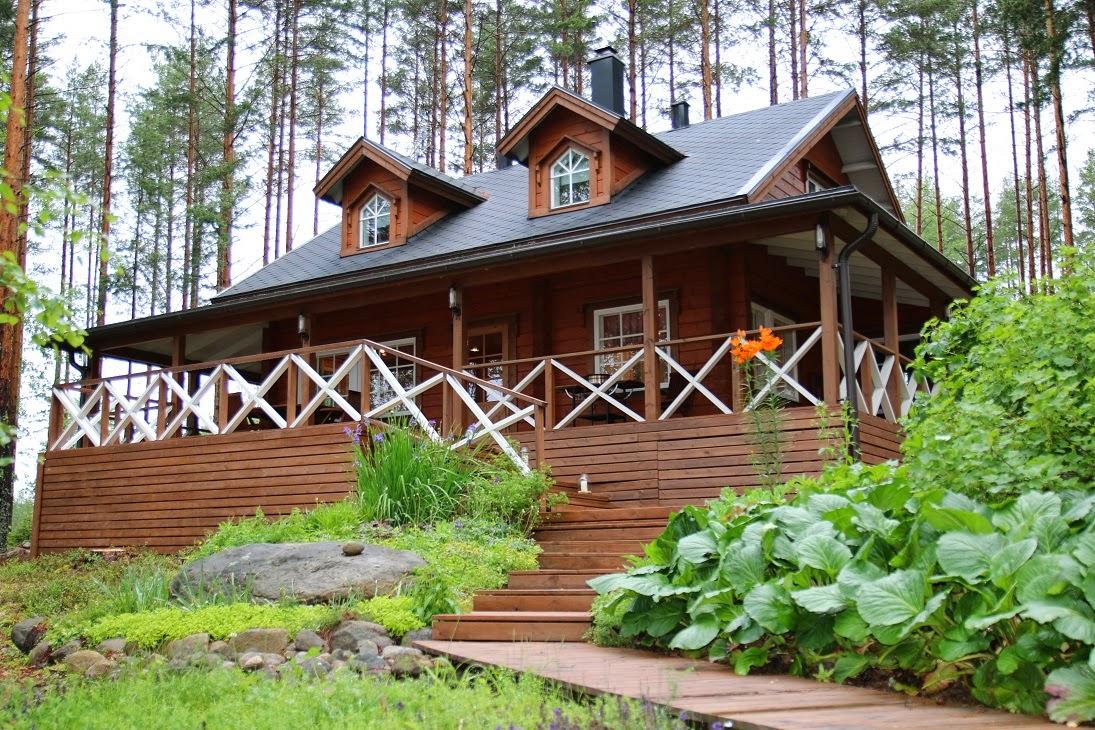 коттеджи в финляндии на лето рыбалка
