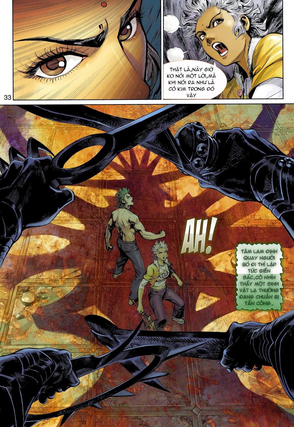 Thần Binh 4 chap 26 - Trang 34