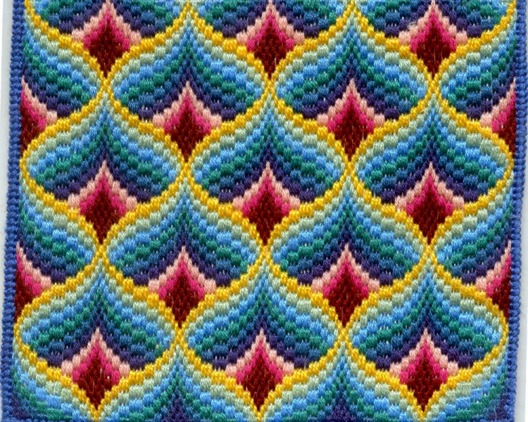 Флорентийская вышивка техника барджелло мастер класс