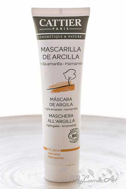 Vitaesencia: Mascarilla de Arcilla Amarilla de Cattier.