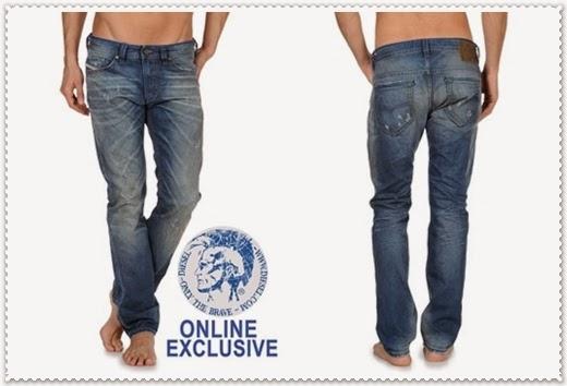 Jeans Mode von Diesel 2014