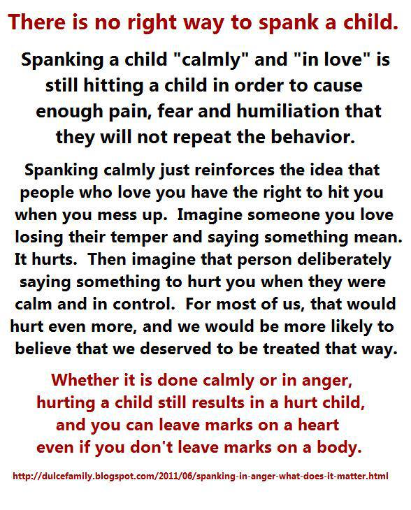 Do parents have the right to spank their children essay