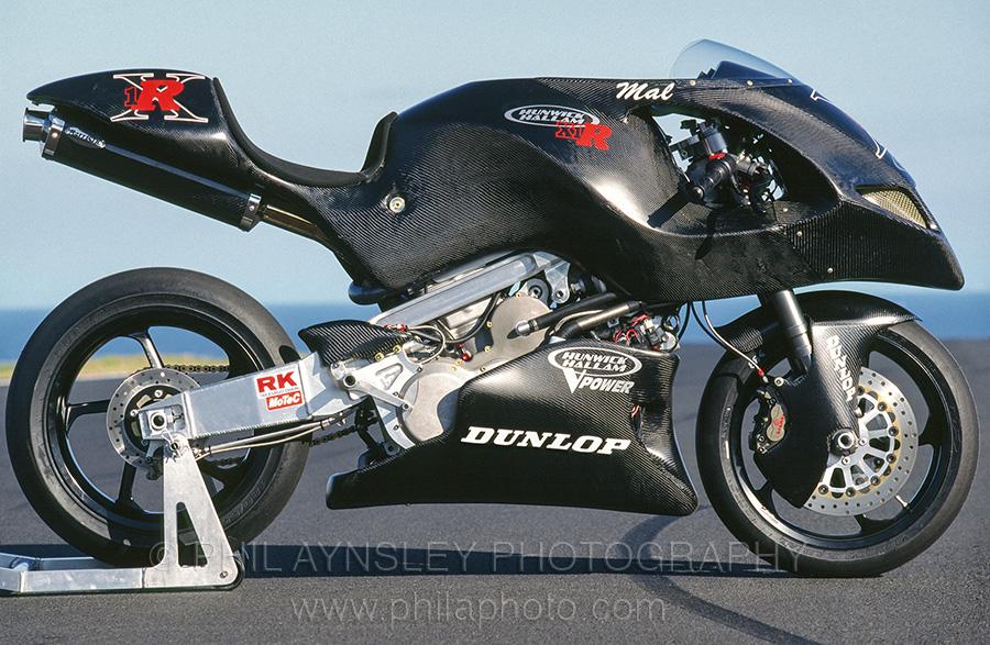 Hunwick Hallam X1R Motorcycle