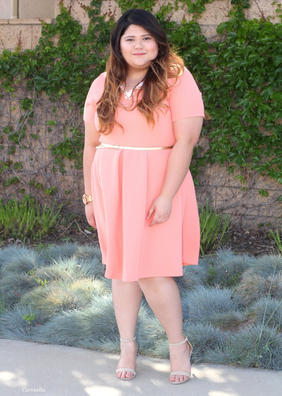 5120771fd40 Curveella  An Easter with Swak Design s Joyce dress