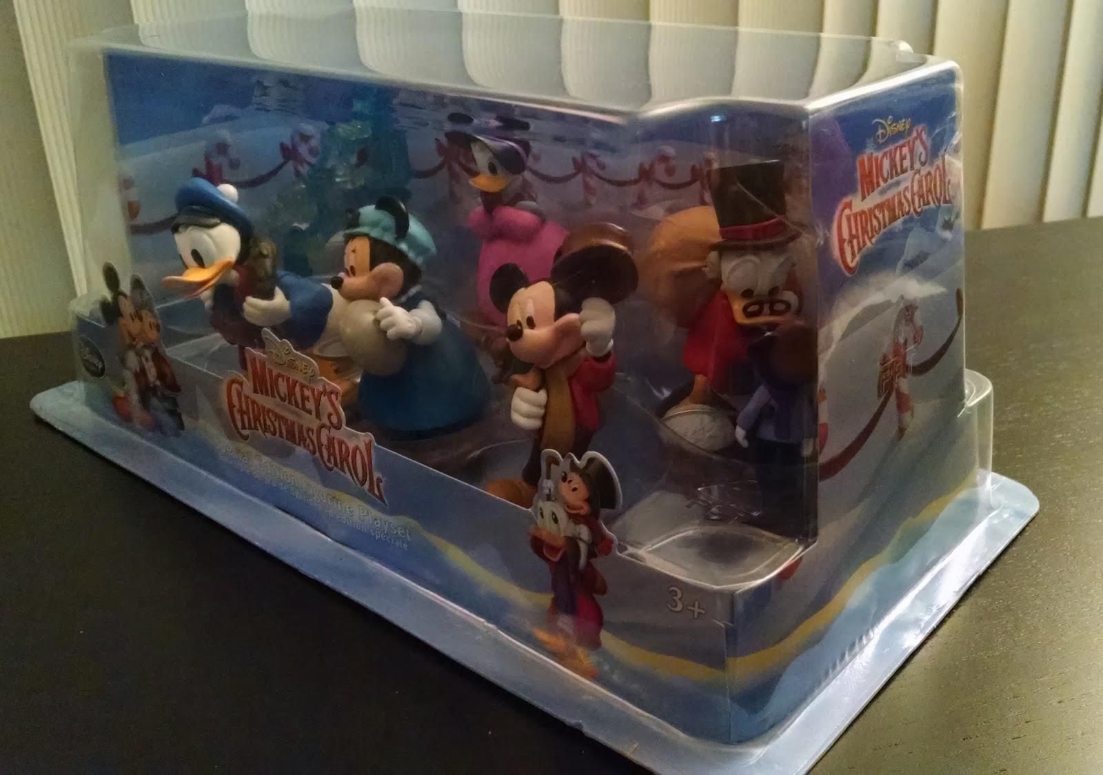 toy review disney store mickeys christmas carol special edition figurine playset - Disney Christmas Store