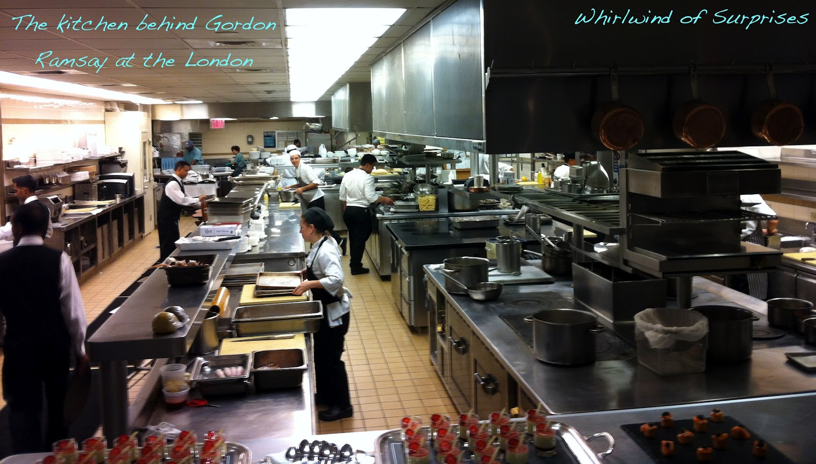 Whirlwind of surprises nyc foodie experiences for Gordon ramsay home kitchen