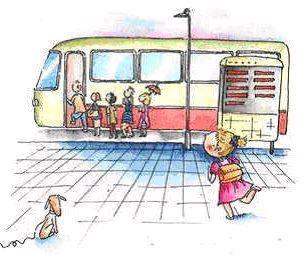 [人生觀察] 人的一生,就像乘坐一台公車