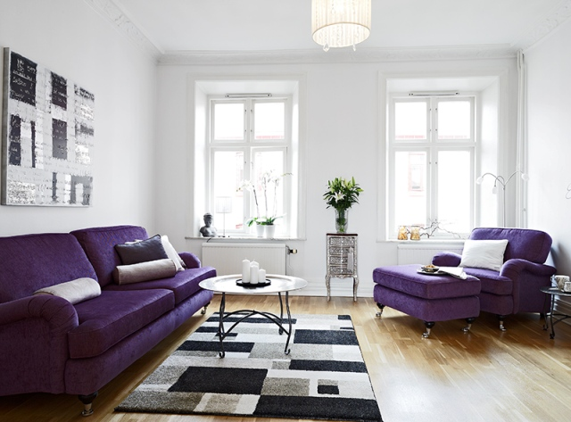 lavander sofa color