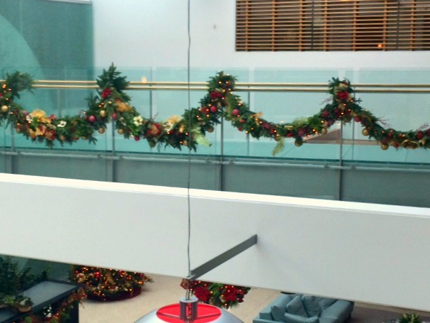 Decorations Near The Office Kitchen