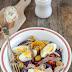 Tunezyjska sałatka z pieczonymi warzywami