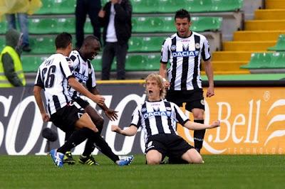 Udinese Siena 2-1 highlights sky