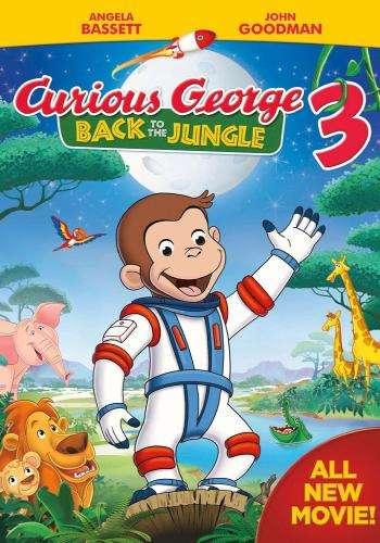 Curious George 3: Volver a la Selva DVDRip Latino