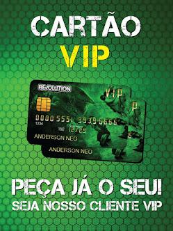 Cartão VIP da Revolution: