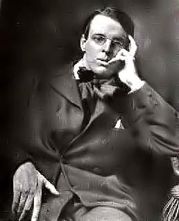Yeats, poeta y dramaturgo irlandés.