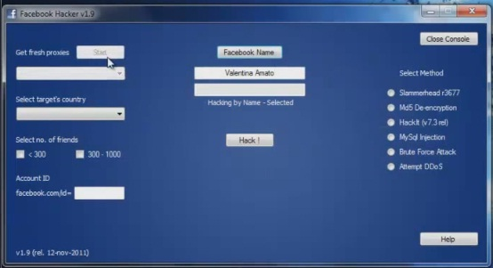 facebook hacker pro free download