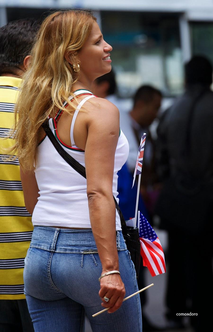 Mujeres Bellas En Jeans
