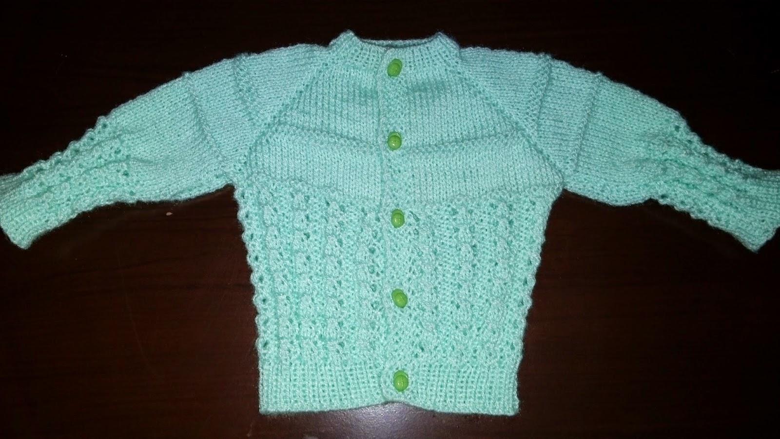 Curso de tejido a mano conjunto para beb en dos agujas - Puntos de agujas de lana ...