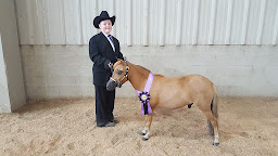Benjamin & Max. Youth Showmanship Grand Champion!