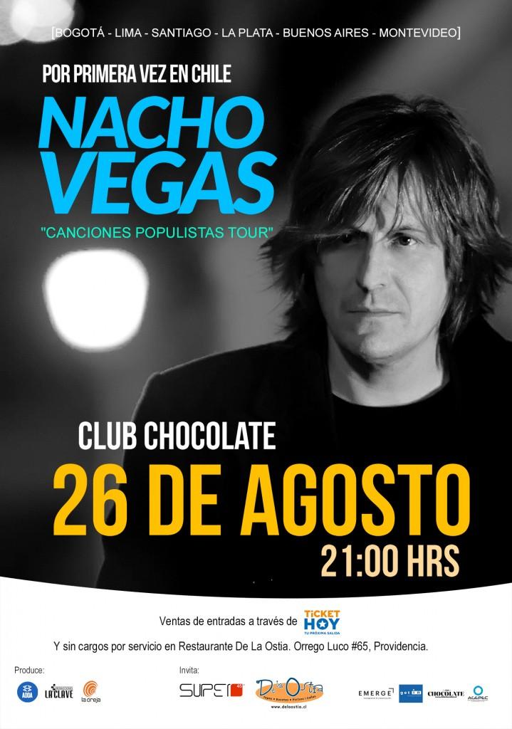 NACHO VEGAS EN SANTIAGO CHILE
