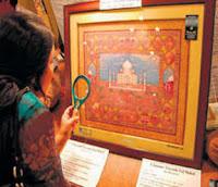 5 crore tajmahal painting
