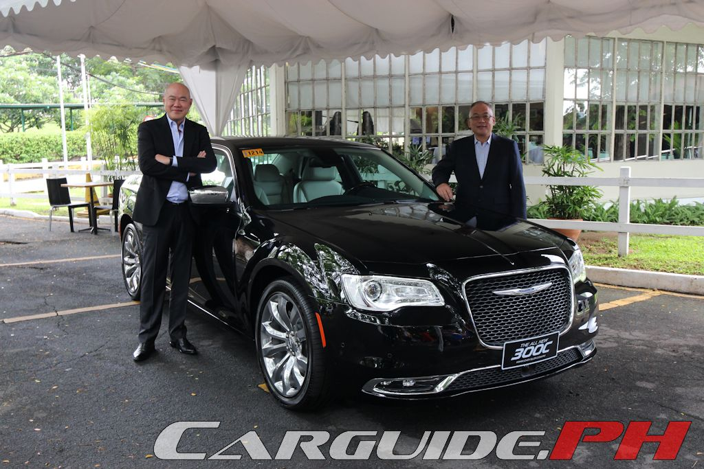 new car launches in philippinesDrive Bold Chrysler Philippines Launches New 300C  CarGuidePH