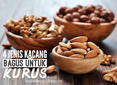 4 Jenis Kacang Bagus Untuk Kurus