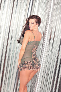 Camo Net Dress