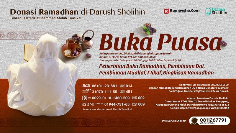 Yuk Ikut Berdonasi Ramadhan
