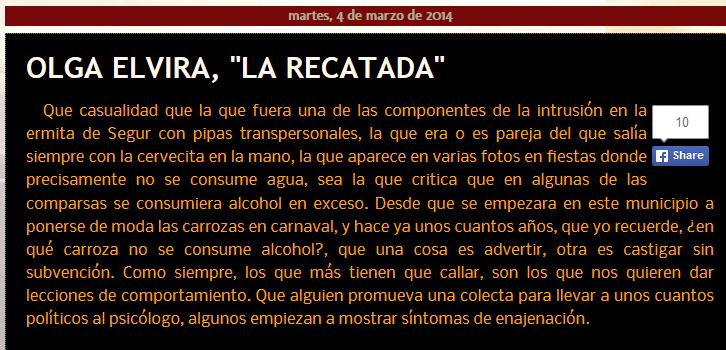 http://www.websegur.com/2014/03/olga-elvira-la-recatada.html
