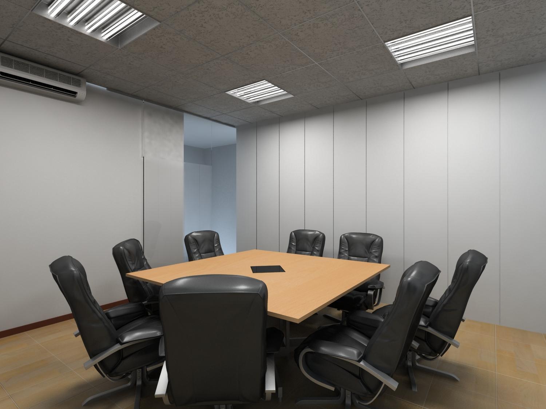 Cosmopolis sala de reuniones for Mesa sala de reuniones