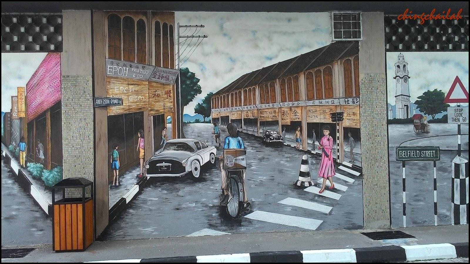 Simple living in nancy wall murals at jalan c m yusuff ipoh for 7 mural ipoh