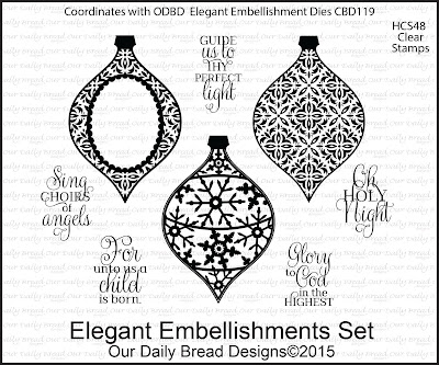 Our Daily Bread Designs Stamp set - Elegant Embellishments