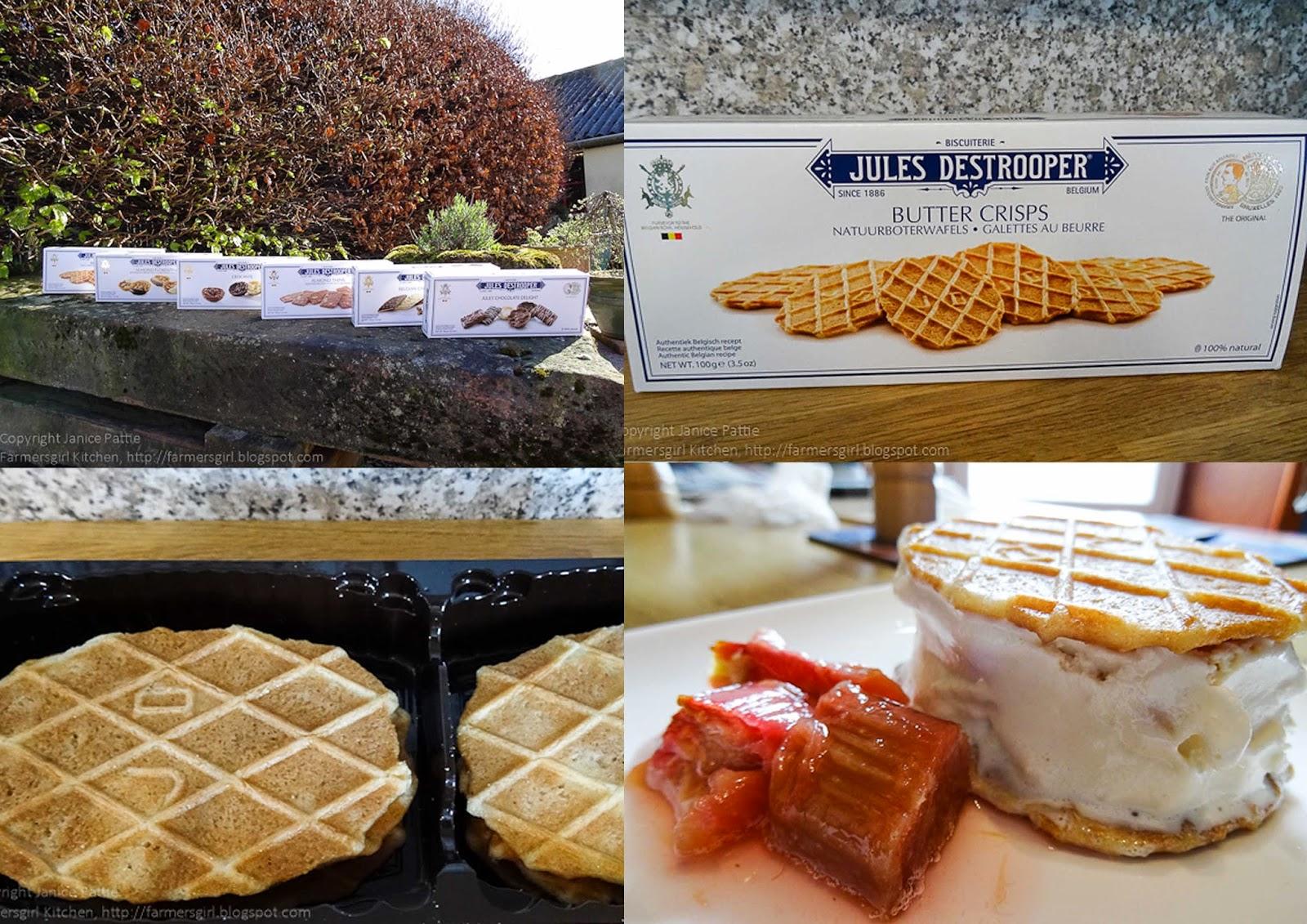 Ginger Crisp Ice Cream Sandwiches Recipes — Dishmaps