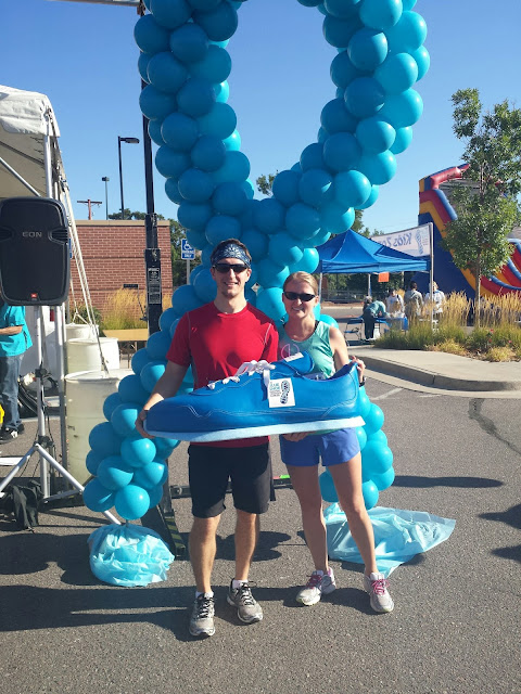 Blue Shoe Run for Prostate Cancer