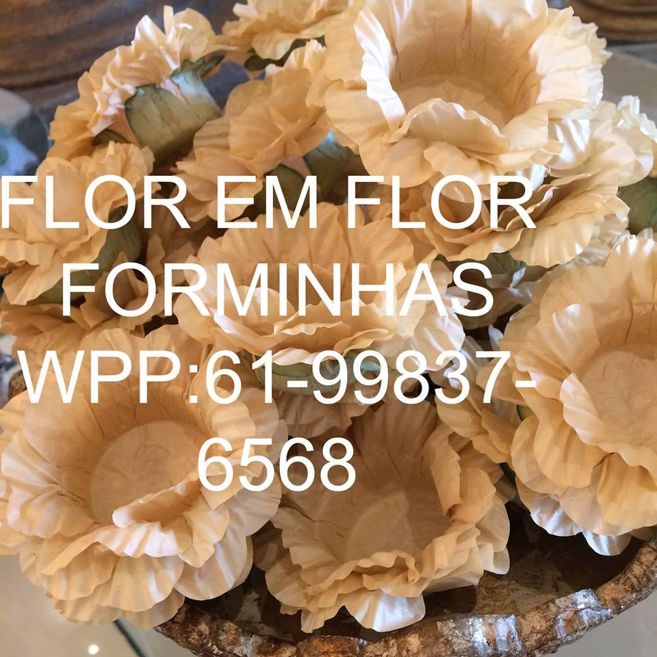 FLOR  EM  FLOR - Forminhas para doces e Lembrancinhas