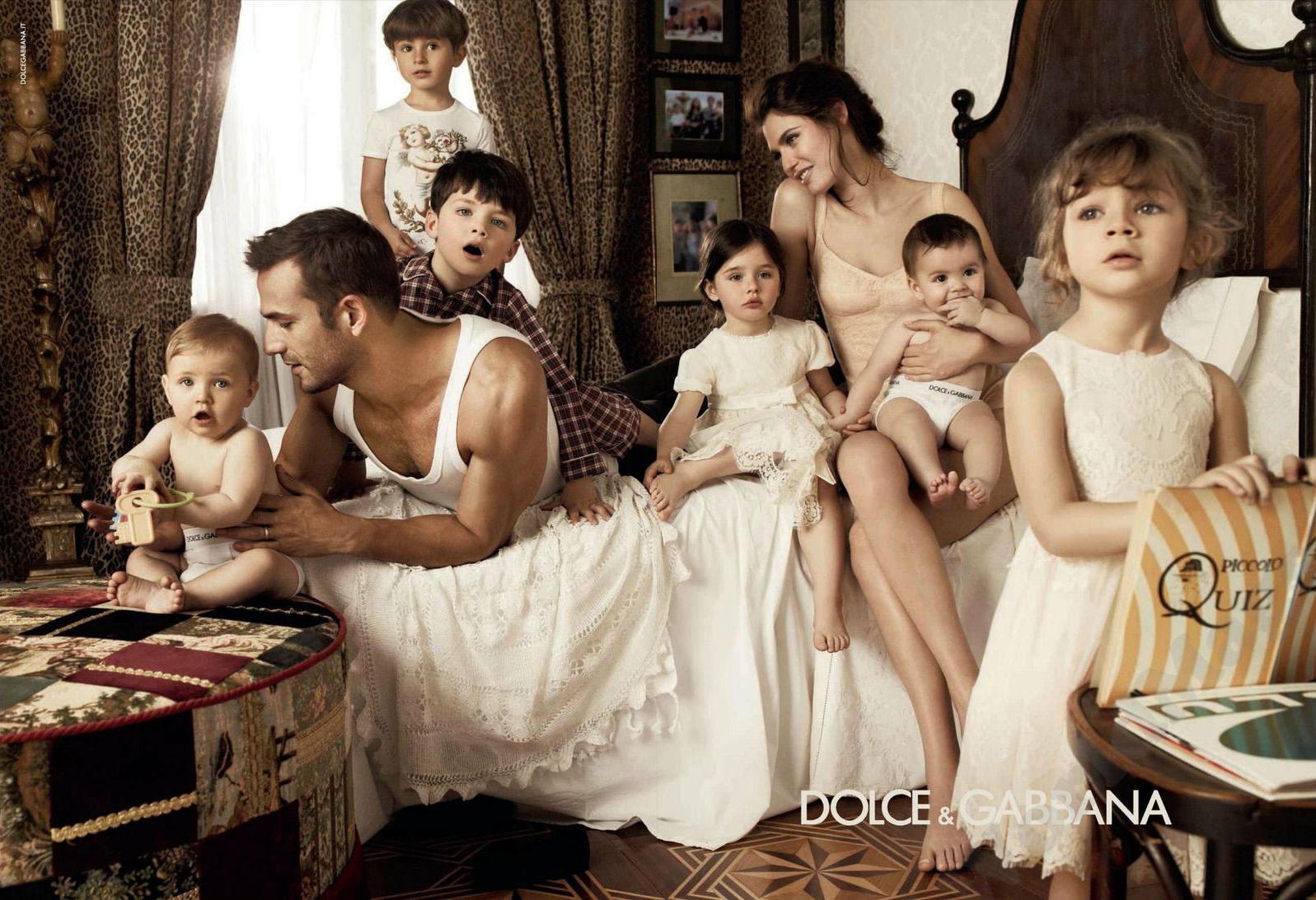 Bianca Balti in Dolce & Gabbana Fall/Winter 2012 campaign via fashioned by love british fashion blog