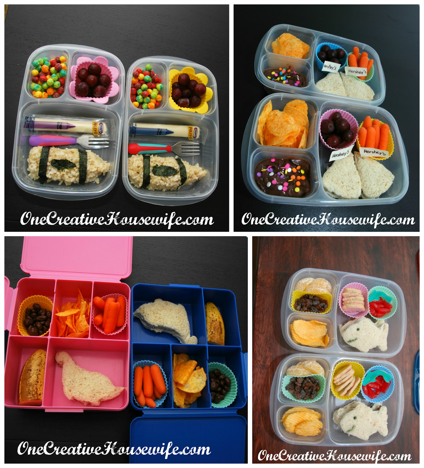 one creative housewife bento style lunches and. Black Bedroom Furniture Sets. Home Design Ideas