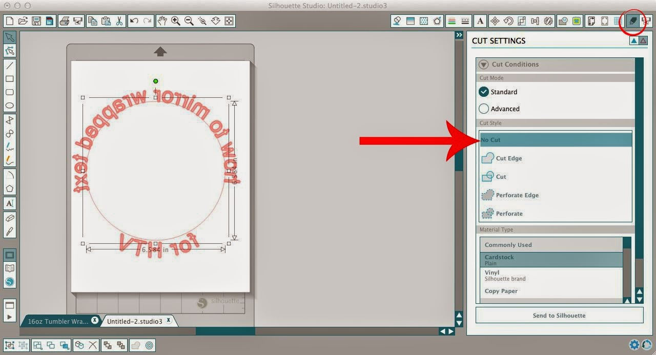 how to circle text in a pdf