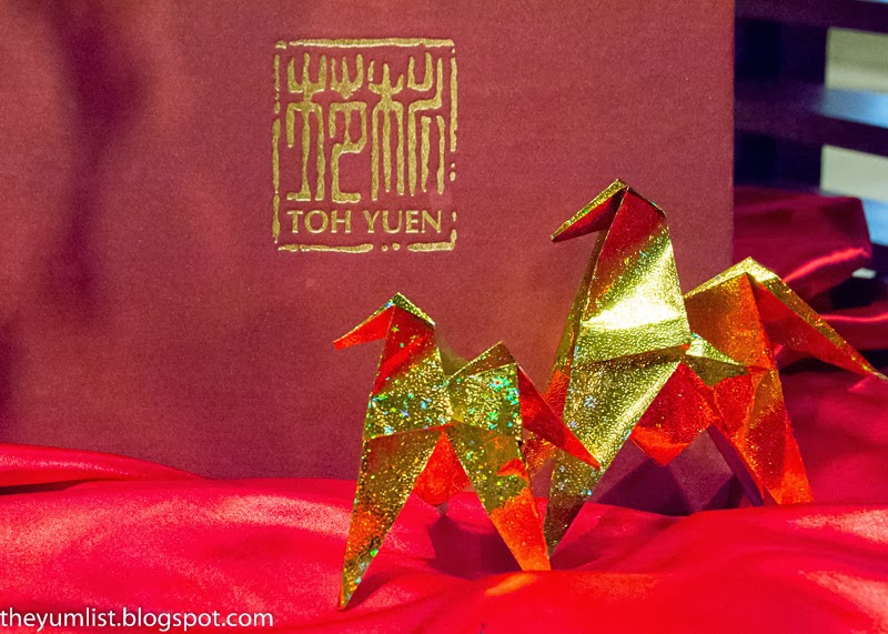 Toh Yuen Restaurant, Hilton Petaling Jaya, Chinese New Year Menu, authentic Cantonese cuisine, Yee Sang, Special Valentine's Day promotion, Lion Dance