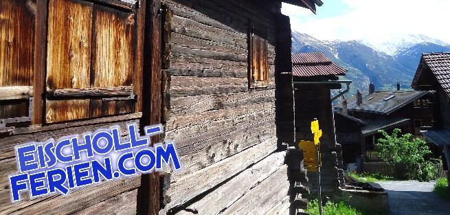 Eischoll - Eischoll - Eischoll -  Eischoll  Wallis Valais Ferien Eischoll ... Der Ferienblog -