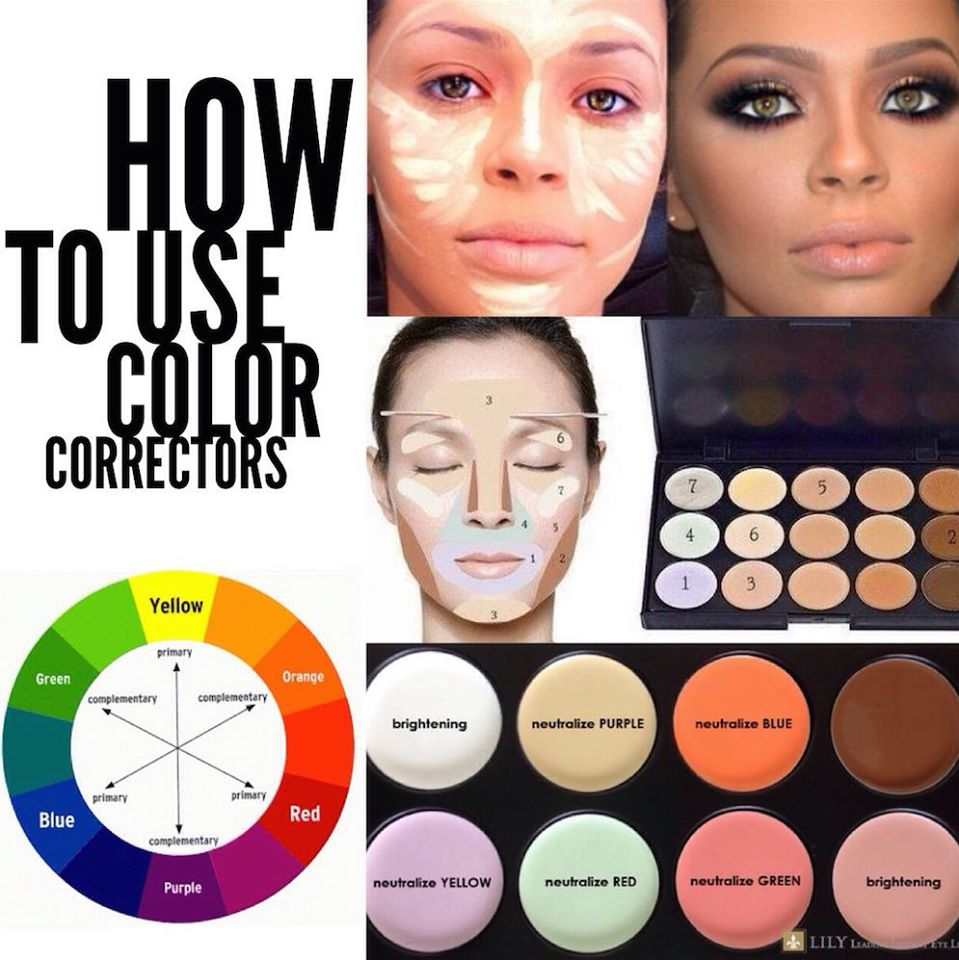 your ultimate eye revival guide - Concealer Color Guide