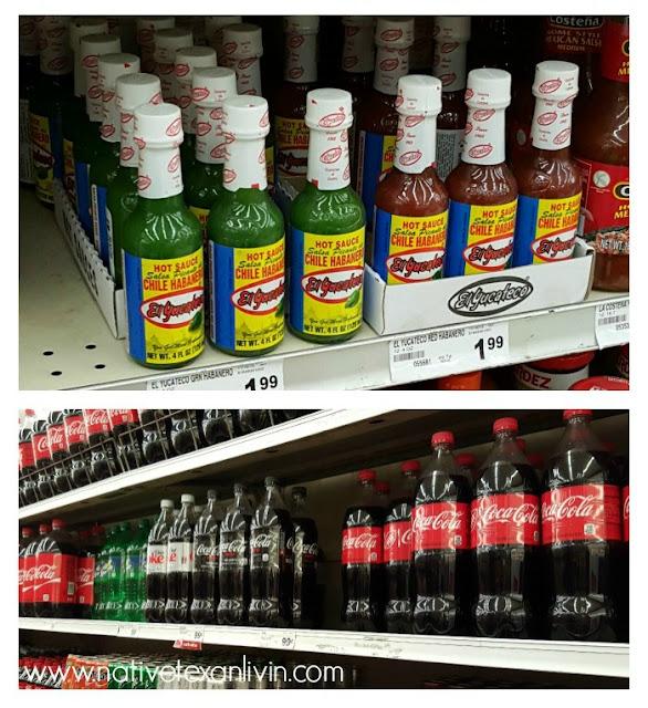 El Yucateco & Coca-Cola at Fiesta