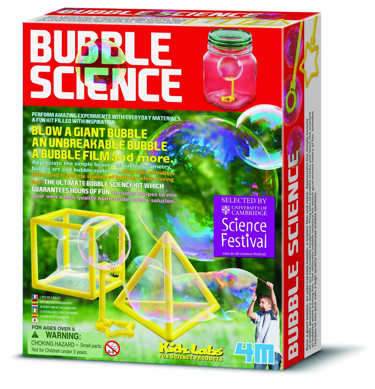 Great Gizmos Bubble Science Kit