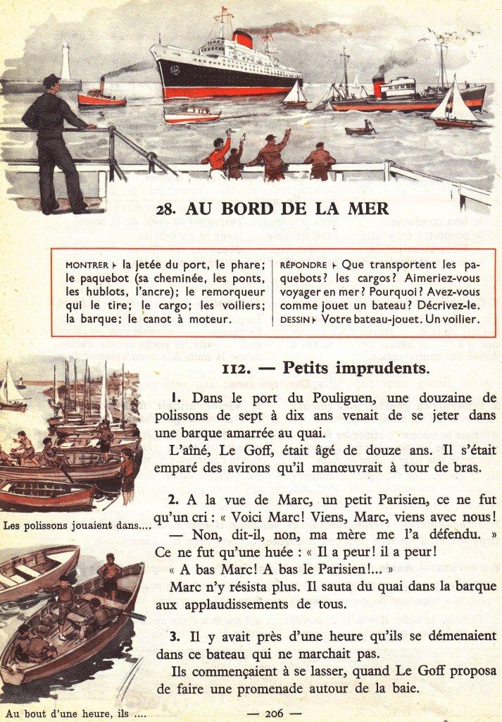 Manuels Anciens Dumas Ce1 S28 Au Bord De La Mer