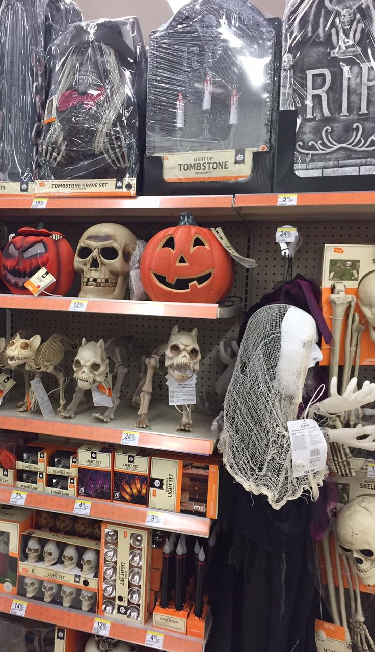 2015 halloween at walgreens 2 - Walgreens Halloween Decorations