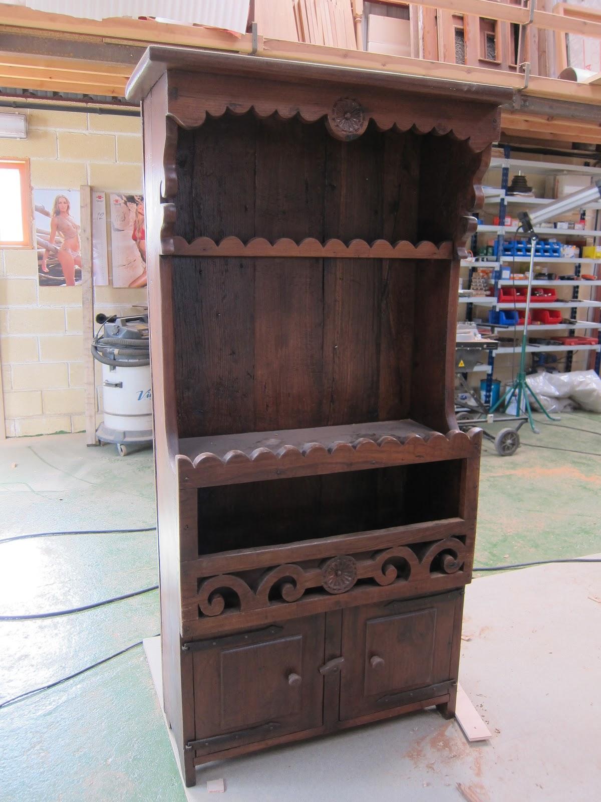 Carpinter a y toneler a como aprobechar un mueble viejo for Muebles colmenar viejo